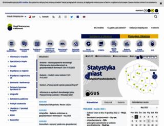 bialystok.stat.gov.pl screenshot
