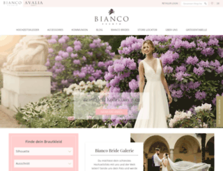 bianco-evento.de screenshot