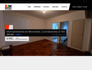 biancobienesraices.com.ar screenshot