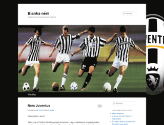 bianconeri.taccs.hu screenshot