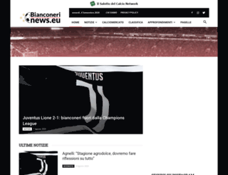 bianconerinews.com screenshot