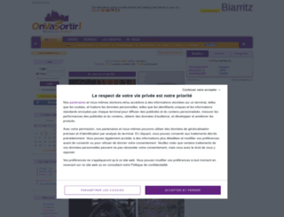 biarritz.onvasortir.com screenshot