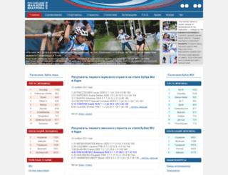 biathlon-russia.ru screenshot