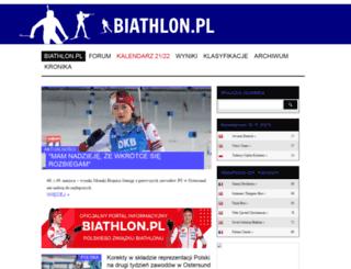 biathlon.pl screenshot
