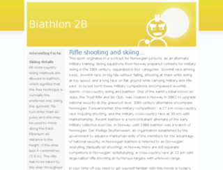 biathlon2b.com screenshot