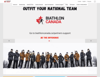 biathloncanada.ca screenshot