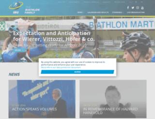 biathlonworld3.de screenshot