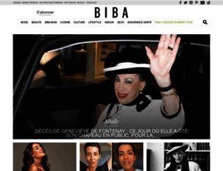 bibamagazine.fr screenshot