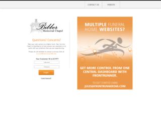bibbermemorial.frontrunnerpro.com screenshot