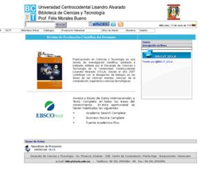bibcyt.ucla.edu.ve screenshot