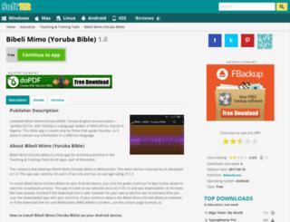 bibeli-mimo-yoruba-bible.soft112.com screenshot