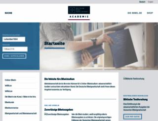 bibelwissenschaft.de screenshot
