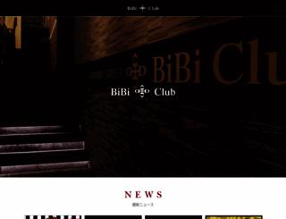 bibi-club.com screenshot