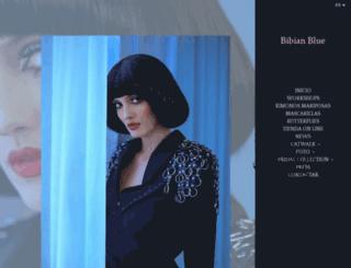 bibianblue.com screenshot