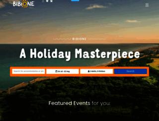 bibione.com screenshot
