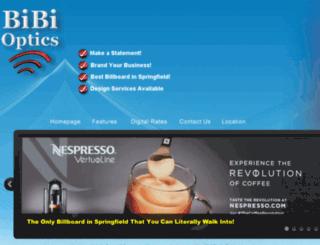 bibioptics.us screenshot