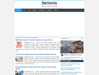 bibitsaputra.com screenshot