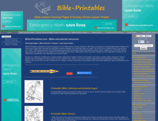 bible-printables.com screenshot