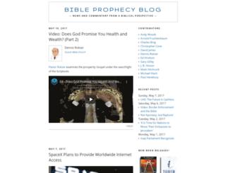 bible-prophecy-today.blogspot.com screenshot
