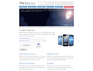 bible-sms.com screenshot