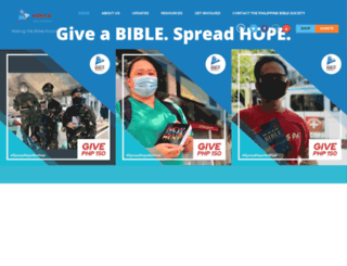bible.org.ph screenshot