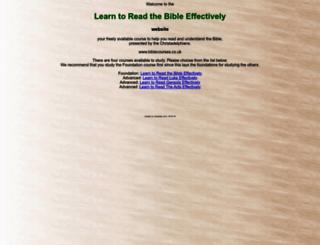 biblecourses.co.uk screenshot