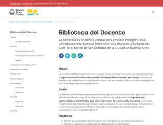 bibleduc.gob.ar screenshot