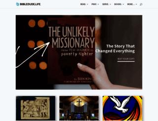 bibledude.net screenshot