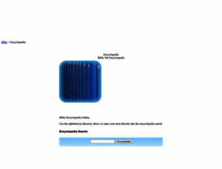 bibleencyclopedia.com screenshot