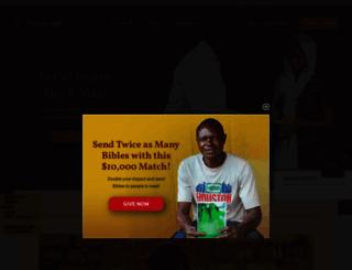 bibleleague.org screenshot