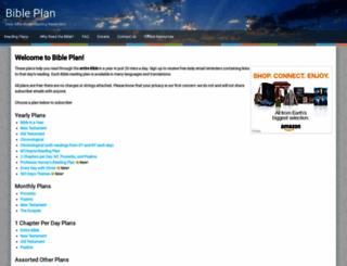 bibleplan.org screenshot