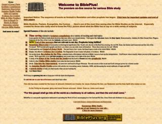 bibleplus.com screenshot