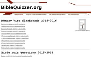biblequizzer.org screenshot