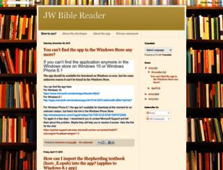 biblereader-jw.blogspot.com screenshot
