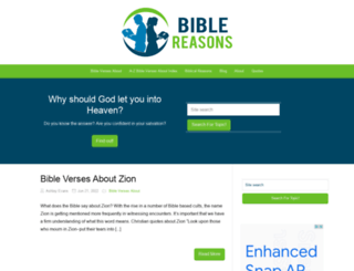 biblereasons.com screenshot