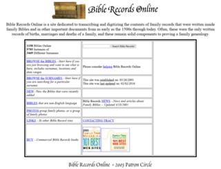 biblerecords.com screenshot