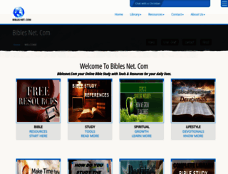 biblesnet.com screenshot