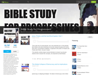 biblestudyforprogressives.podbean.com screenshot