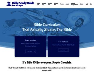 biblestudyguide.com screenshot