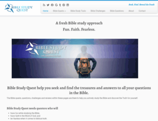 biblestudyquest.com screenshot