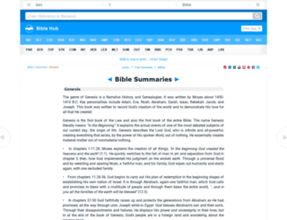 biblesummary.org screenshot