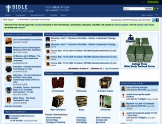 biblesupport.com screenshot