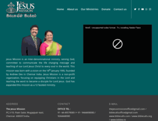 bibletv.in screenshot