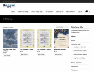 bibleverse.org screenshot