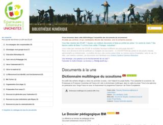 bibli.eeudf.org screenshot