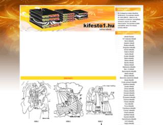 bibliai-kifestok.kifesto1.hu screenshot