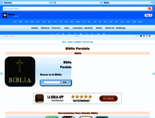 bibliaparalela.com screenshot