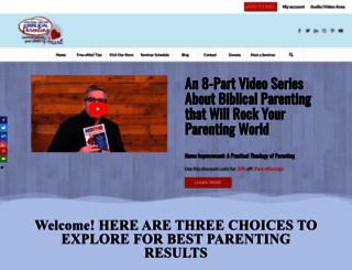 biblicalparenting.org screenshot
