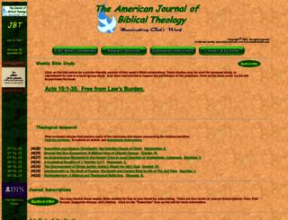 biblicaltheology.com screenshot