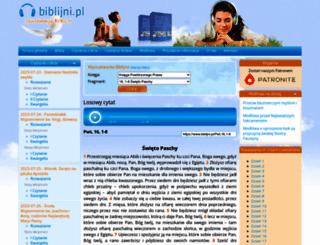 biblijni.pl screenshot